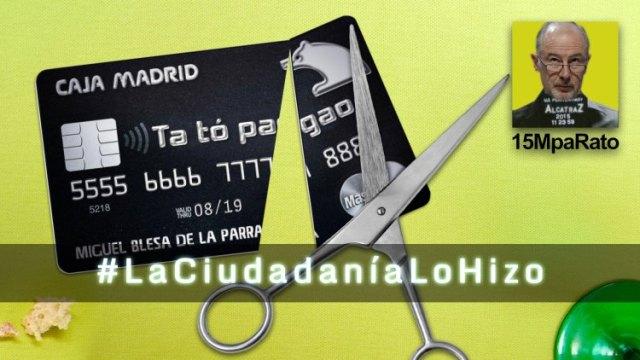 Como salieron las tarjetas negras a la luz #LaCiudadaniaLoHizo