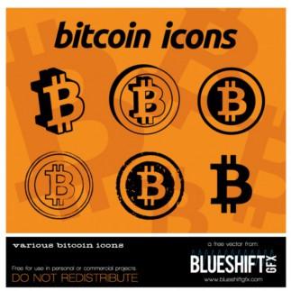 bitcoin-iconos-vectoriales_629313